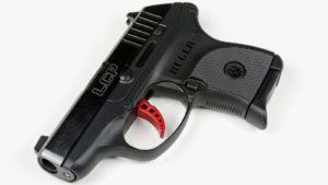 An LCP Custom handgun manufactured by Sturm Ruger.