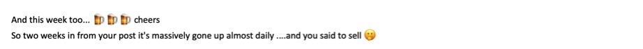 screenshot of an email sent to author Joanna Makris regarding CCIV