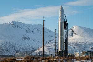 Astra Rocket on Alaska launchpad