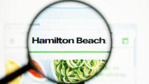 Homepage of Hamilton Beach