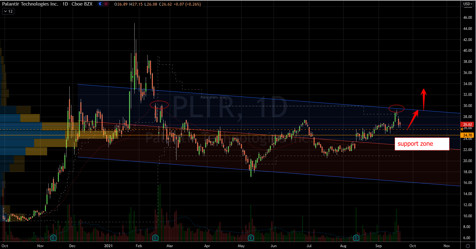 Palantir (PLTR) Stock Chart Showing Bullish Path