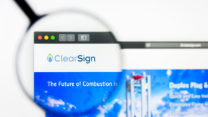 website for ClearSign Technologies (CLIR)