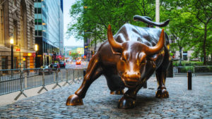 Image of the Wall Street Bull representing JSPR stock.